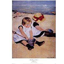children-playing-on-the-beach-art-print The Best Beach Paintings You Can Buy
