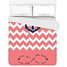 customized-anchor-quote-duvet-cover-set Best Anchor Bedding and Comforter Sets