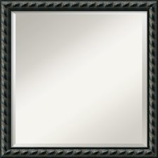 darby-home-co-black-rope-framed-mirror The Best Rope Mirrors You Can Buy