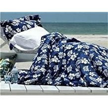 dean-miller-surf-bedding-hibiscus-comforter-set Surf Decor & Surfboard Decorations