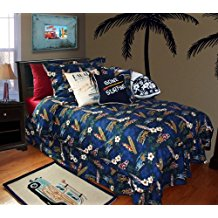 dean-miller-surf-bedding-surf-duvet-set Best Surf Bedding and Comforter Sets
