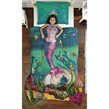 dream-big-sea-mermaid-comforter-set Mermaid Bedding Sets and Mermaid Comforter Sets
