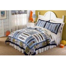 hang-ten-quilted-boys-surf-bedding-set Best Surf Bedding and Comforter Sets