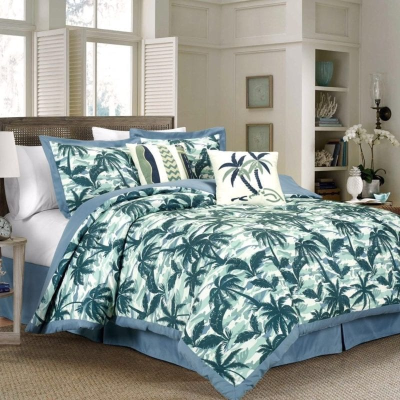 kona-palm-tree-surfboard-comforter-set-800x800 Best Surf Bedding and Comforter Sets
