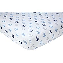 little-love-by-nojo-crib-bedding-anchor-sheets Best Anchor Bedding and Comforter Sets