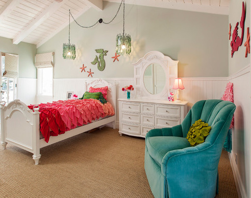mermaid-themed-bedroom-chatham-residence Best Mermaid Bedding and Comforter Sets
