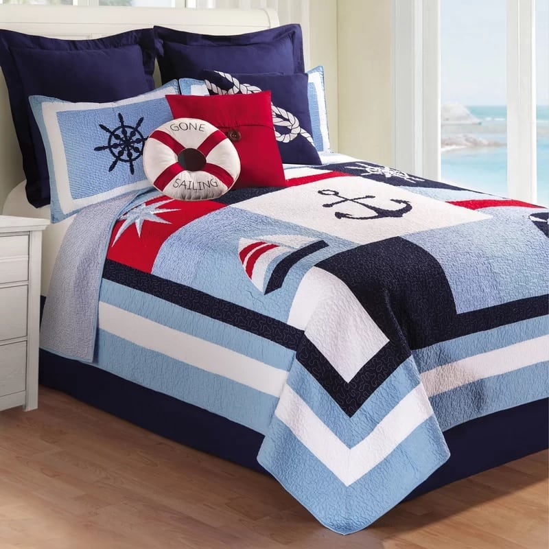 miah-quilt-by-breakwater-bay The Best Nautical Quilts and Nautical Bedding Sets