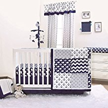 nautical-whales-and-anchors-baby-boy-anchor-bedding Best Anchor Bedding and Comforter Sets