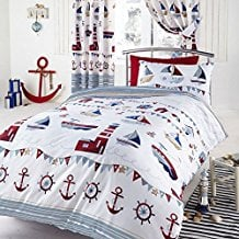 nautical-white-anchor-duvet-cover The Best Nautical Quilts and Nautical Bedding Sets