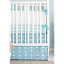 new-arrivals-aqua-crib-bed-anchor Best Anchor Bedding and Comforter Sets