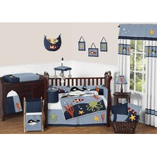 ocean-9-piece-crib-bedding-set Best Surf Bedding and Comforter Sets