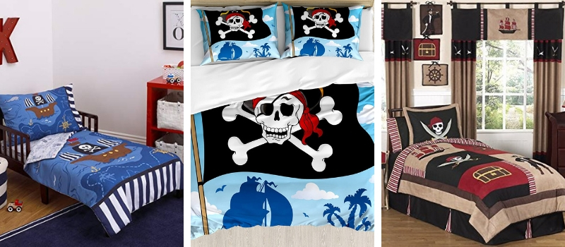 Pirate Bedding Sets and Pirate Comforter Sets