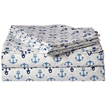 poppy-and-fritz-cotton-anchors-sheet-set Best Anchor Bedding and Comforter Sets
