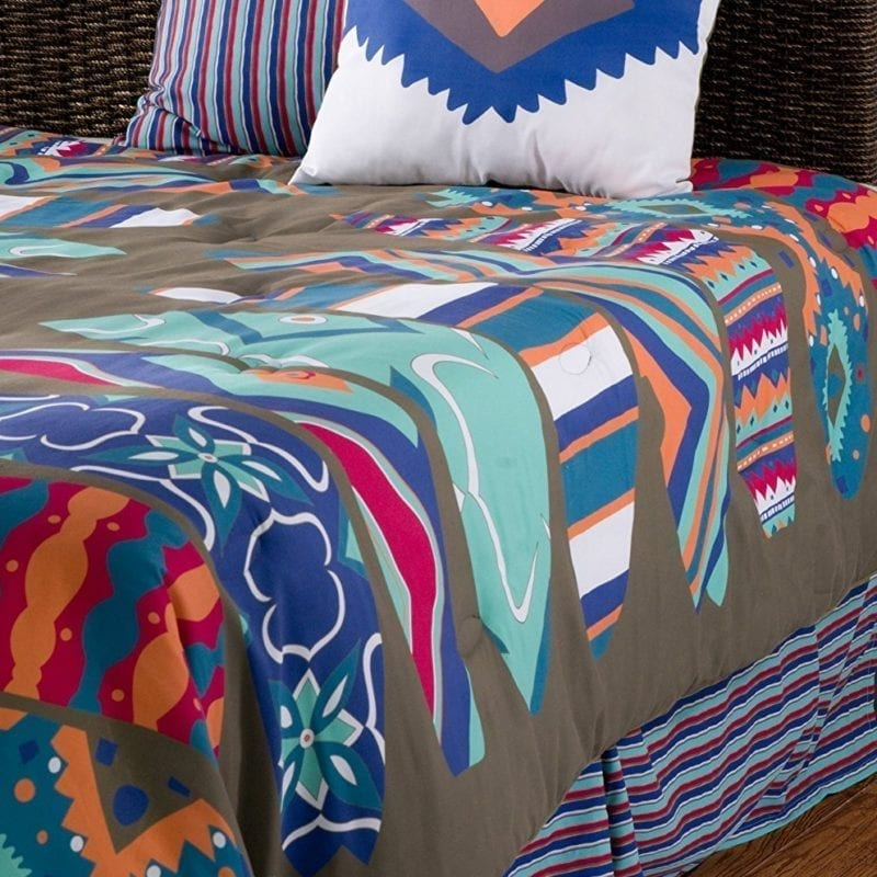 rizzy-home-surfs-up-kids-comforter-set-800x800 Best Surf Bedding and Comforter Sets