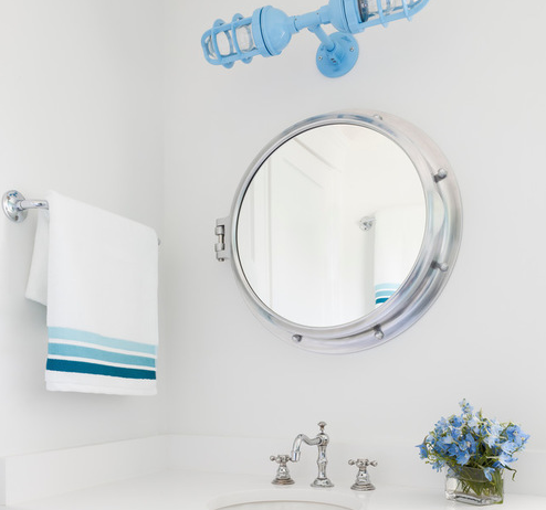best porthole mirrors for nautical homes
