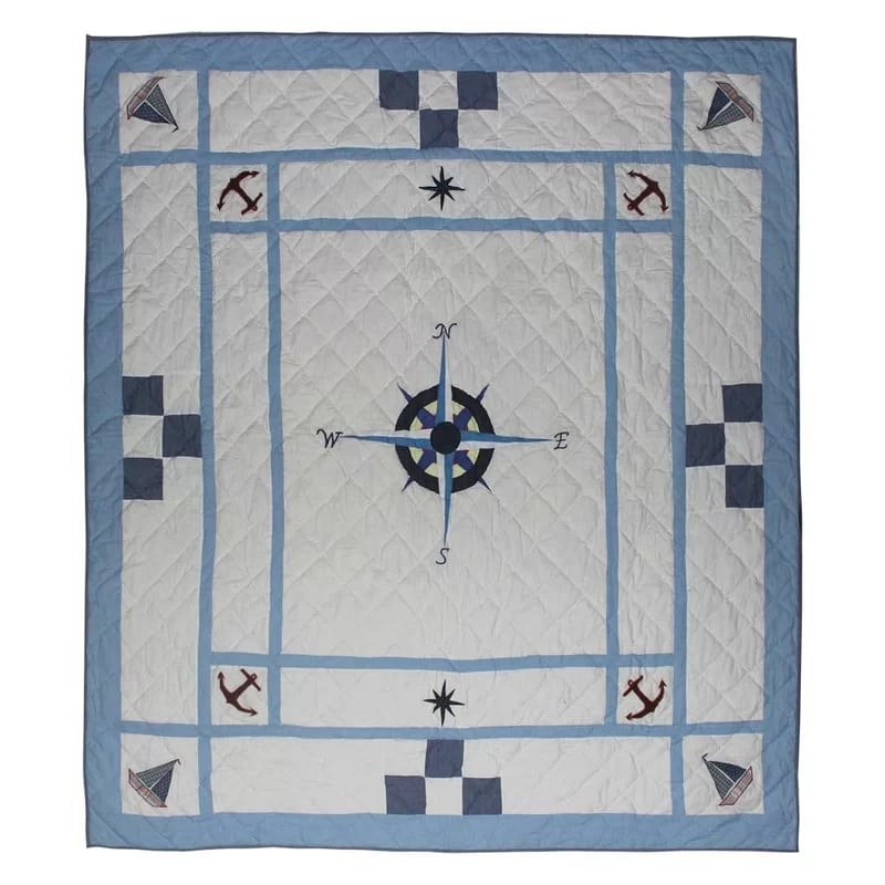 star-of-the-sea-quilt-by-patch-magic Best Anchor Bedding and Comforter Sets