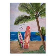 surf-boards-beach-painting The Best Beach Paintings You Can Buy