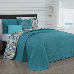surf-city-manor-quilt Best Surf Bedding and Comforter Sets