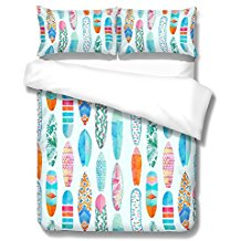 surfboard-3pc-duvet-cover Best Surf Bedding and Comforter Sets