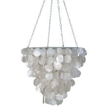 tapered-2-light-crystal-chandelier The Best Capiz Shell Chandeliers You Can Buy