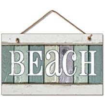 weathered-wood-beach-sign 100+ Wooden Beach Signs and Wooden Coastal Signs
