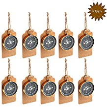 20-piece-compass-gift-tags-for-travel Best Nautical Wedding Favors You Can Buy