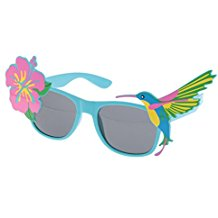 Dovewill-Hawaiian-Tropical-Floral-Bird-Sunglasses-Fancy-Dress-Party-Glasses-Accessory Best Sunglasses Wedding Favors You Can Buy