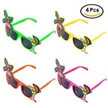 Pangda-4-Pieces-Party-Sunglasses-Hawaiian-Glasses Best Sunglasses Wedding Favors You Can Buy