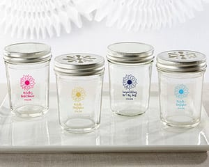 Personalized-Sunflower-Glass-Mason-Jar Best Mason Jar Wedding Favors You Can Buy