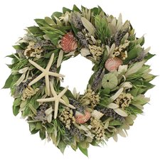 beach-house-wreath-by-floral-treasure-16 Beautiful Outdoor Beach Wreaths For Your Door
