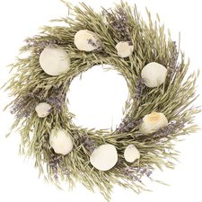 beach-seashell-wreath-floral-treasure-16 Beautiful Outdoor Beach Wreaths For Your Door
