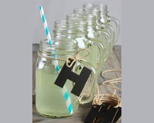 chalkboard-letter-and-jute-twin-mason-jar-mugs Best Mason Jar Wedding Favors You Can Buy