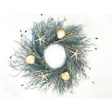 coral-reef-wreath-22 Beautiful Outdoor Beach Wreaths For Your Door