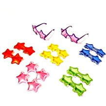 dazzling-toys-star-shaped-sunglasses Best Sunglasses Wedding Favors You Can Buy