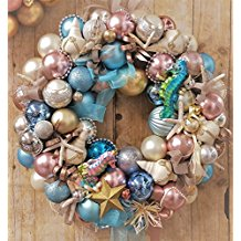 elegant-beach-theme-ornament Beautiful Outdoor Beach Wreaths For Your Door