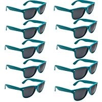 grinderPUNCH-Wayfarer-Sunglasses-10-Bulk-Pack-Lot-Neon-Color-Party-Glasses Best Sunglasses Wedding Favors You Can Buy