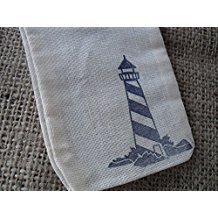 lighthouse-favor-bags Best Nautical Wedding Favors You Can Buy