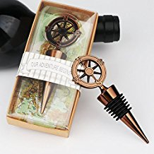 nautical-compass-wine-bottle-stoppers Nautical Wedding Favors