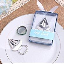 sailboat-bottle-openers Nautical Wedding Favors