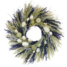 sea-island-wreath-floral-treasure-22 Beautiful Outdoor Beach Wreaths For Your Door