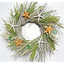 starfish-of-the-beach-wreath Beautiful Outdoor Beach Wreaths For Your Door