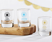 sunflower-shot-glass-votive-holder Best Candle Wedding Favors You Can Buy