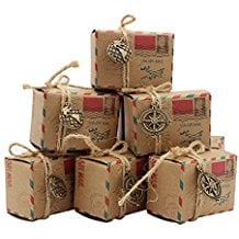 vintage-inspired-airmail-wedding-candy-boxes Nautical Wedding Favors
