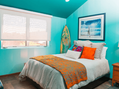 101 beach themed bedroom ideas beachfront decor for Decoration chambre ocean
