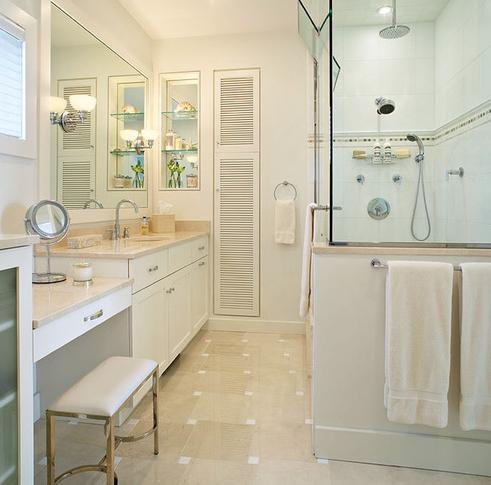 Amagansett-Beach-Retreat-3-by-Kitchens-and-Baths-Linda-Burkhardt 101 Beach Themed Bathroom Ideas