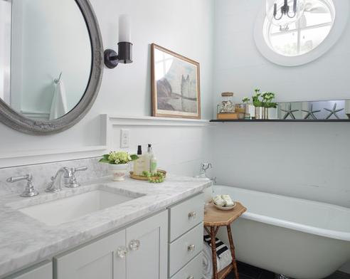 Bath-2-by-Rethink-Design-Studio 101 Beach Themed Bathroom Ideas