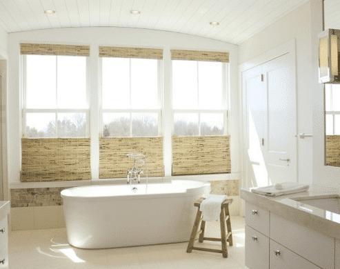 Bathroom-Over-The-Sea-by-Kate-Jackson-Design 101 Beach Themed Bathroom Ideas
