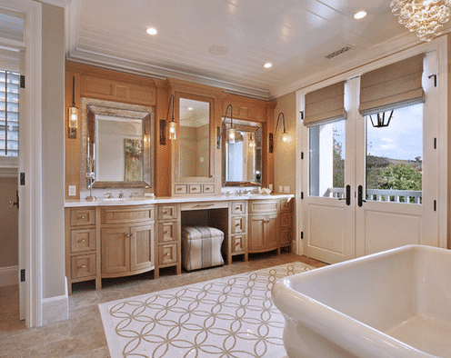 Bayshores-Drive-2-by-Brandon-Architects-Inc 101 Beach Themed Bathroom Designs