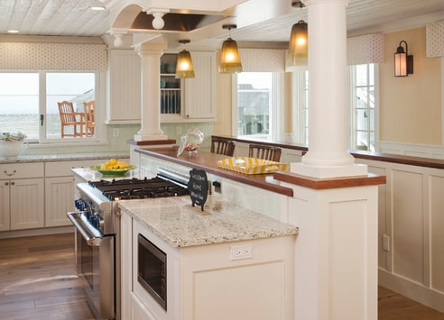Beach-House-Cardiff-By-The-Sea-Bigelow-Interiors-LLC 101 Beautiful Beach Cottage Kitchens