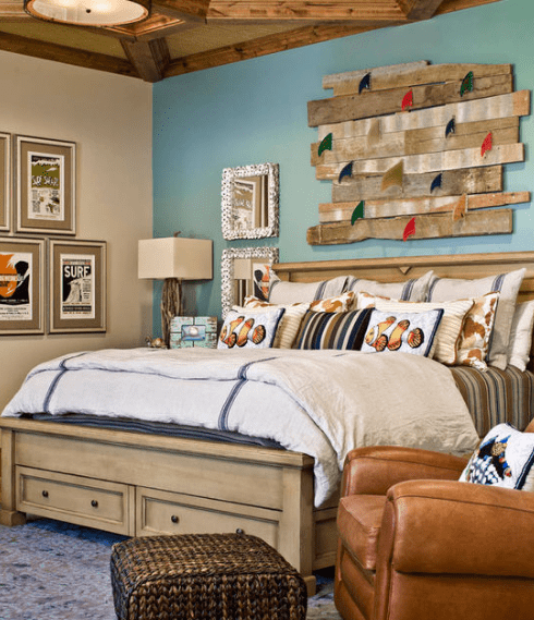 astounding beach themed bedrooms | 101 Beach Themed Bedroom Ideas - Beachfront Decor